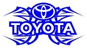 Toyota Tribal v2 Decal Sticker
