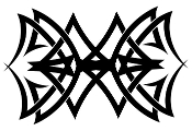 Tribal Design v48 Decal Sticker