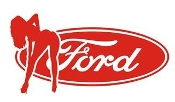Ford Girl v12 Decal Sticker