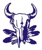 Bull Skull Design Decal Sticker