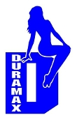 Duramax Girl v8 Decal Sticker