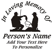 Fisherman Memorial v2 Decal