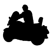 Motorcycle Silhouette v7 Decal Sticker