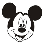 Mickey Mouse Head v2 Decal Sticker