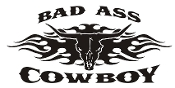 Bad Ass Cowboy v3 Decal Sticker