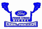 Power Stroke Coal Roller v6 Decal Sticker