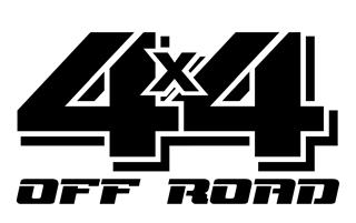 4x4 Off Road v5 Decal Sticker
