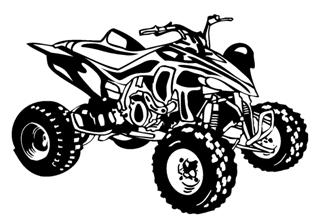 ATV v7 Decal Sticker