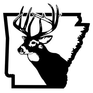 Arkansas Deer Hunting Decal Sticker