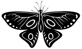 Butterfly v16 Decal Sticker