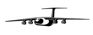 Cargo Jet Decal Sticker