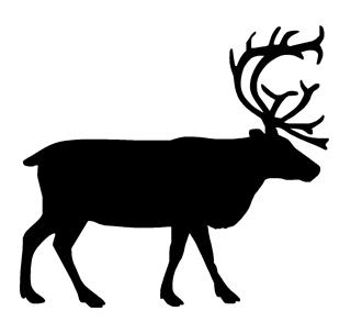 Caribou v1 Decal Sticker