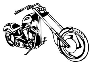 Chopper v1 Decal Sticker