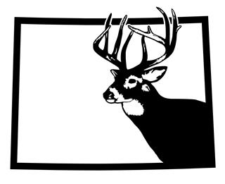 Colorado Deer Hunting Decal Sticker