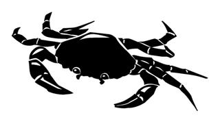 Crab 3 Decal Sticker