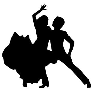 Flamenco Dancers v2 Decal Sticker