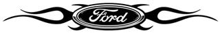Ford Flame v1 Decal Sticker