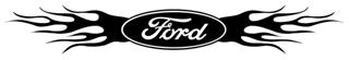 Ford Flame v2 Decal Sticker