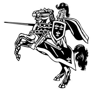 Jousting Knight v2 Decal Sticker