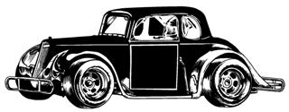 Legend Car Decal Sticker