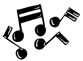 Music Notes v3 Decal Sticker